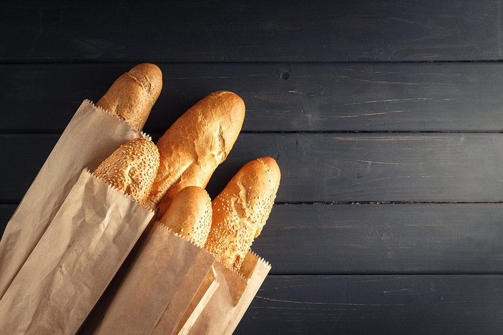 franquias de publicidade em saco de pão
