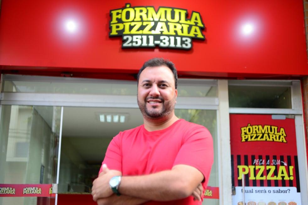 franquia fórmula pizzaria