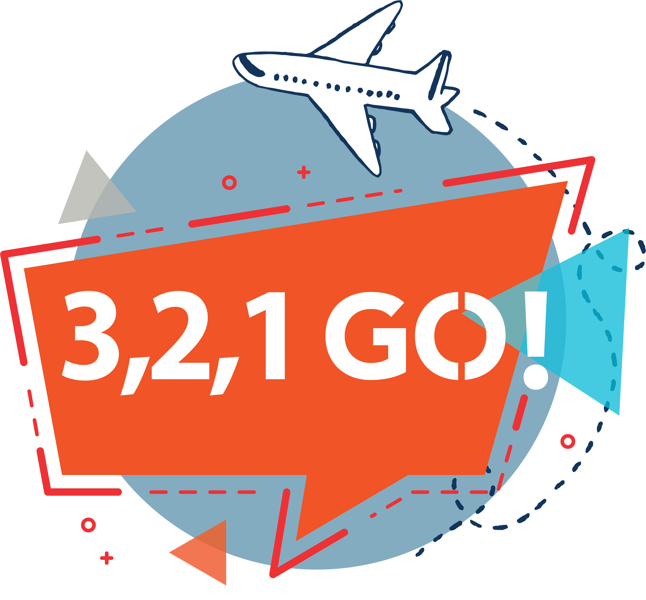 logo 3 2 1 go travel